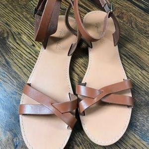 The Boardwalk Crisscross Sandal Size 8 1/2